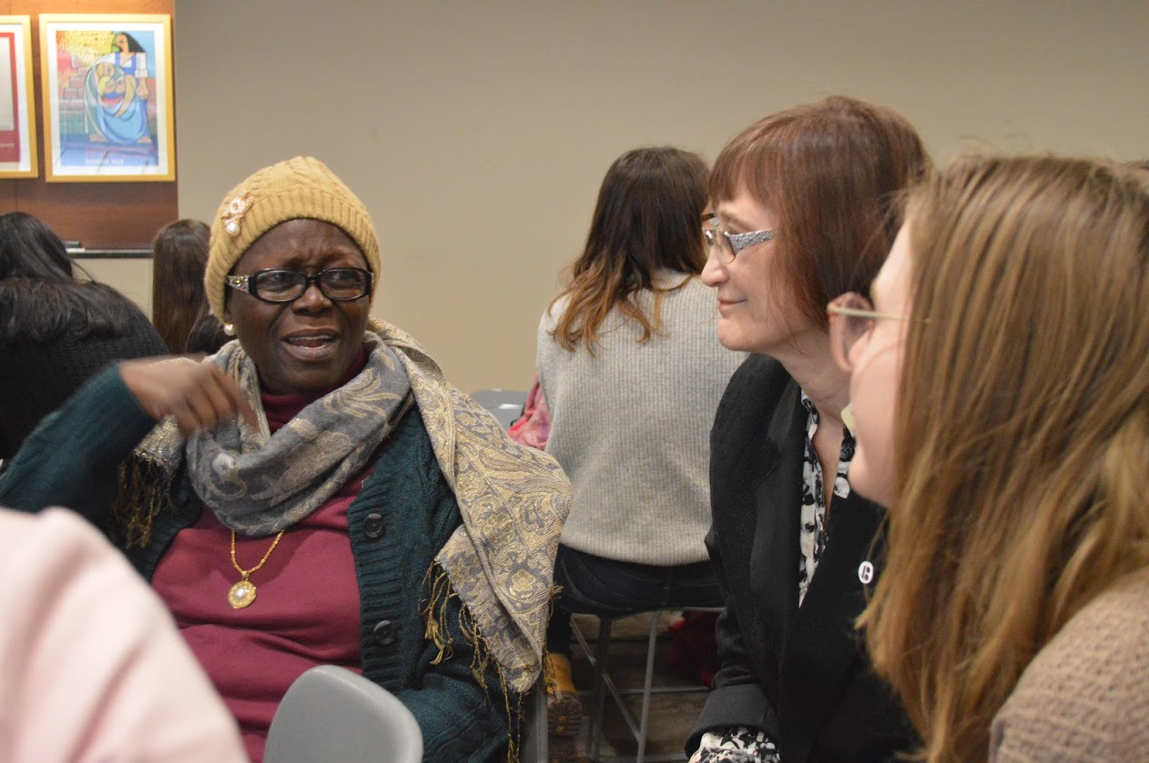 Group discussions during The Kota Alliance's NGOCSW62 parallel event