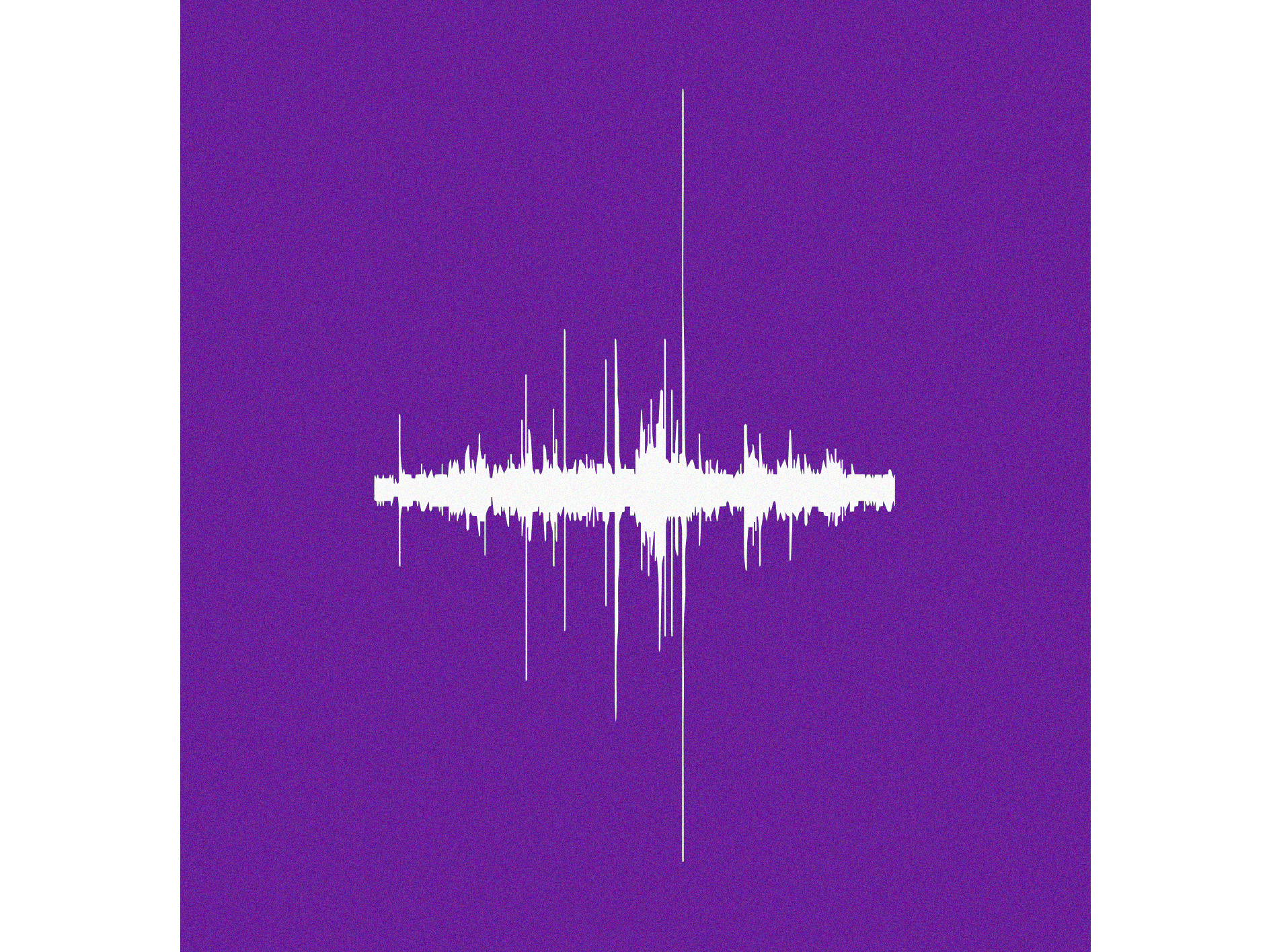 Sound wave of printing in LCC Reprographics studio Recorded on iPhone 6, 23 January 2018