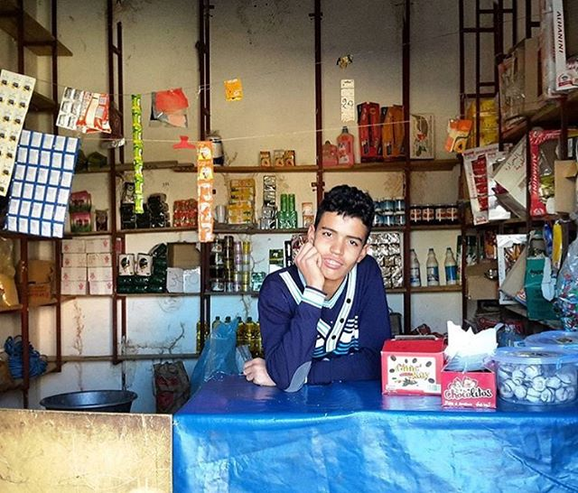 16 year old shop owner Houssain goes to school and opens his shop after. He dreams of moving to Bilbao #Spain one day when he has enough money. #Morocco (contributed by @maya_tribal.travels)