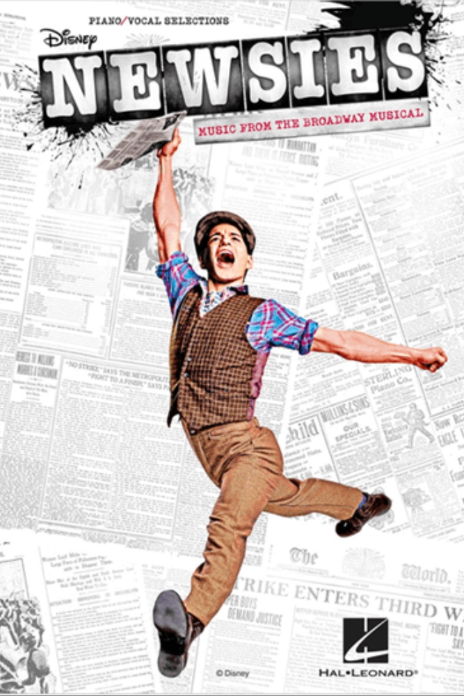 NEWSIES THE BROADWAY MUSICAL PIANO-VOCAL SELECTIONS SONGBOOK.png