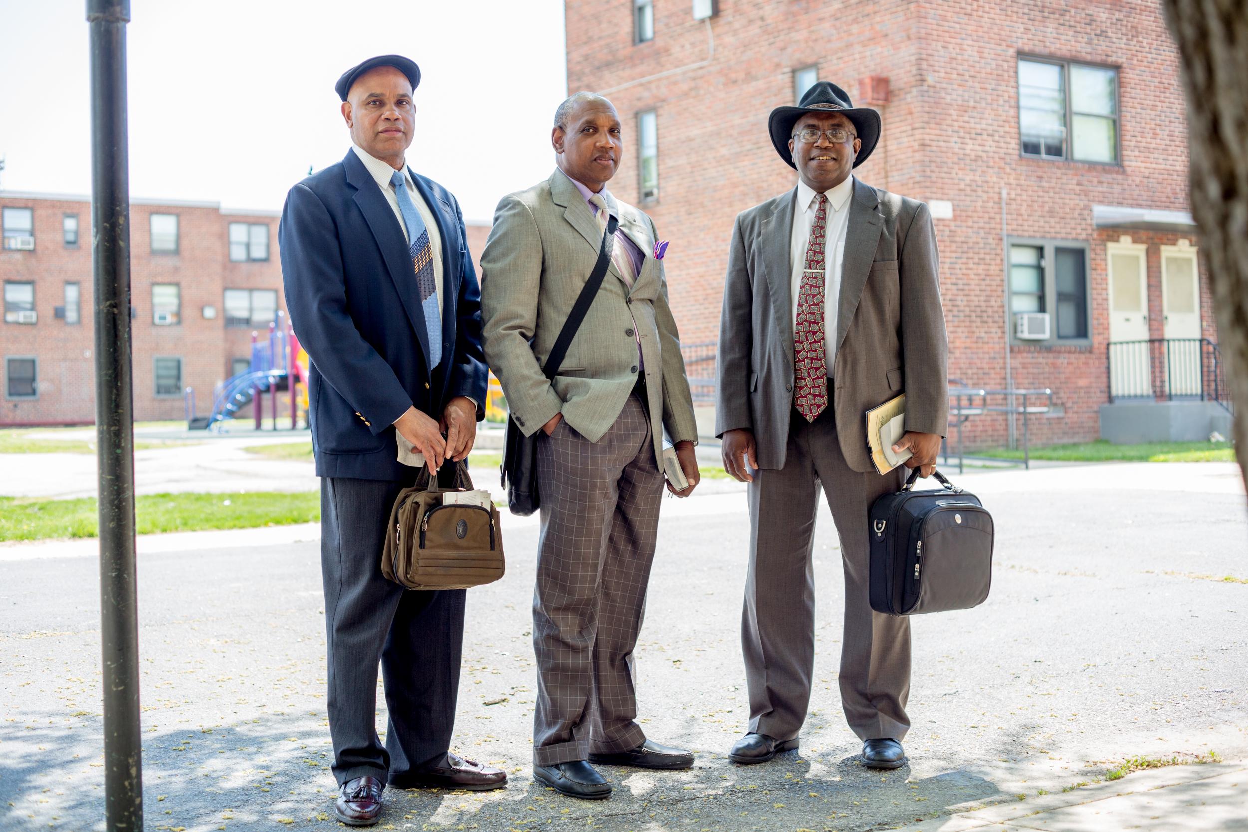 Raymond Carr, 55, David Johnson, 52, and Keith Randall, 56 three Baltimore-area pastors.