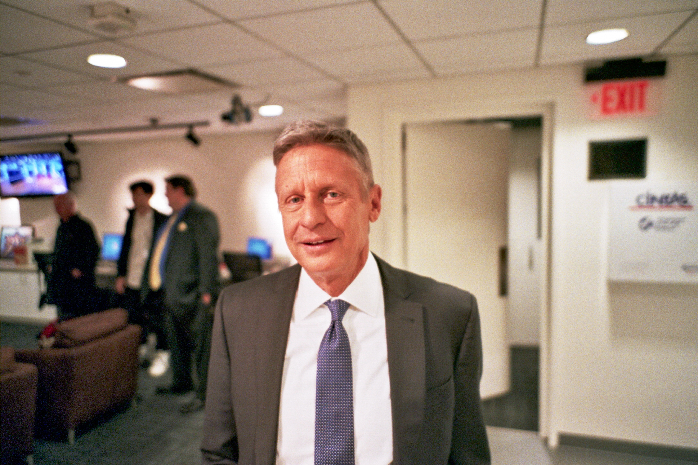 Two-term Governor of New Mexico and 2016 Libertarian candidate for President Gary Johnson