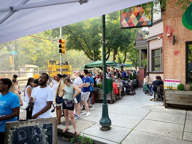 Remember that time we set up a chicken wing tent next to a pretty giant sink hole and everyone showed up anyway? 🕳🍗 #baltimoreavewestphilly #baltimoreavenuestroll #clarkville #westphilly #happyhour #beer #pizza #wine #pizzabeerwine #craftbeerlife #familyhappyhour #neighborhood #community #friendly #family #familyfriendly #cornerrestaurant #baltimoreave #baltimoreavewestphilly #pizzaphilly #phillysbestpizza #westphillysbestpizza #clarkvillebeergoggles #westphillyisthebestphilly #pizzaislife