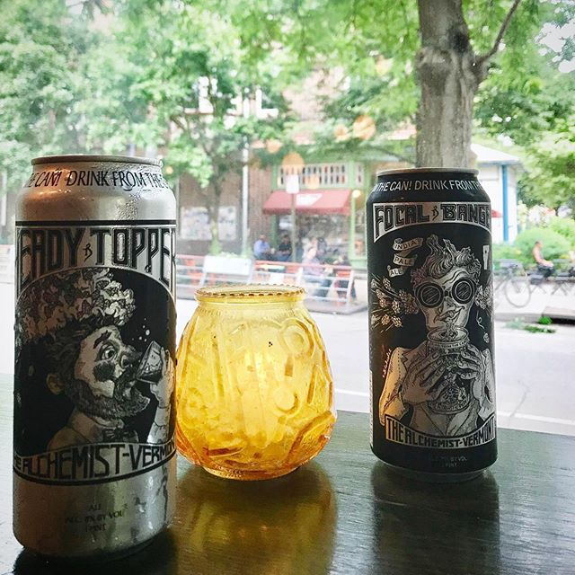 What a day to enjoy some of the last few @alch3mistb33r HEADY TOPPER and FOCAL BANGER cans in the house while staring out at the calm beauty of West Philly's own sinkhole. ❤️🍻🕳 #weekend #clarkville #westphilly #happyhour #beer #pizza #wine #pizzabeerwine #craftbeerlife #familyhappyhour #neighborhood #community #friendly #family #familyfriendly #cornerrestaurant #baltimoreave #baltimoreavewestphilly #pizzaphilly #phillysbestpizza #westphillysbestpizza #clarkvillebeergoggles #westphillyisthebestphilly #pizzaislife