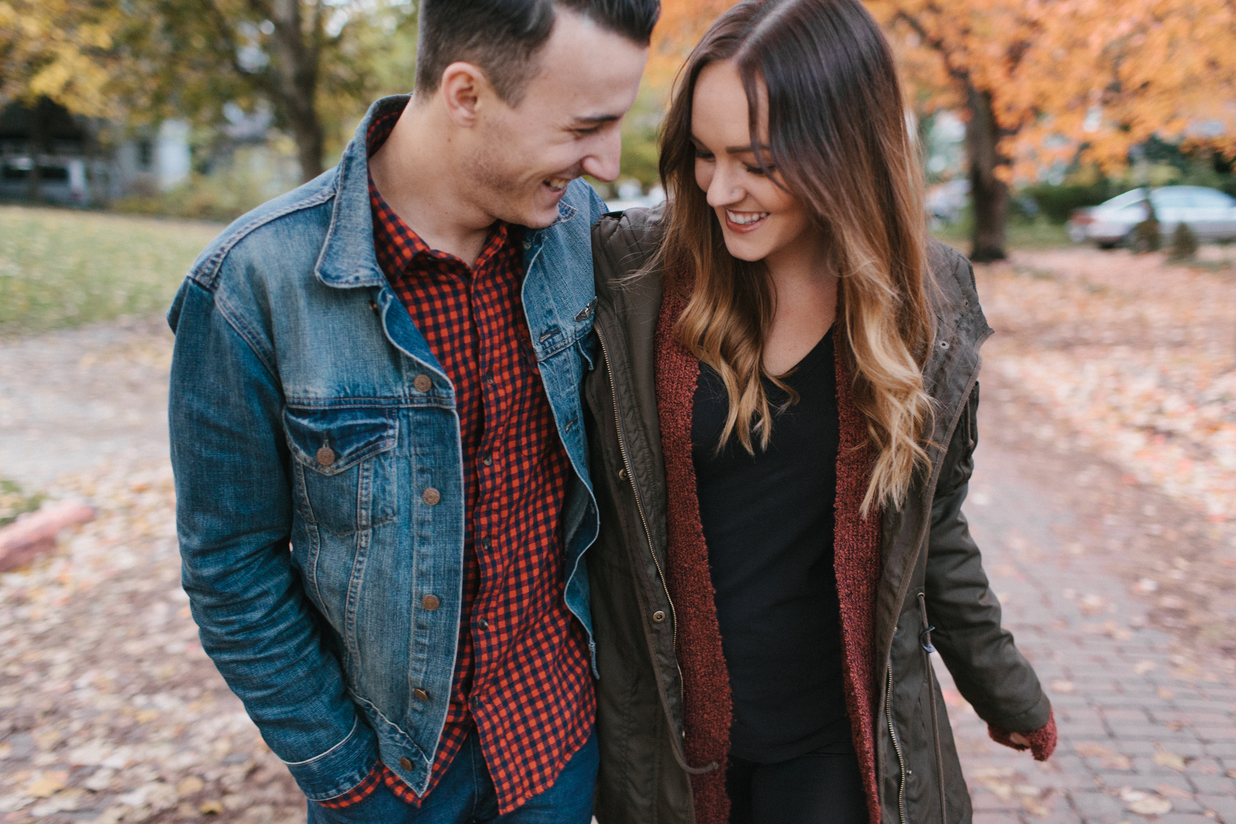 Grand Rapids Engagement photos Lifestyle Wedding Photographer Mae Stier Autumn Fall Candid Photography-005.jpg