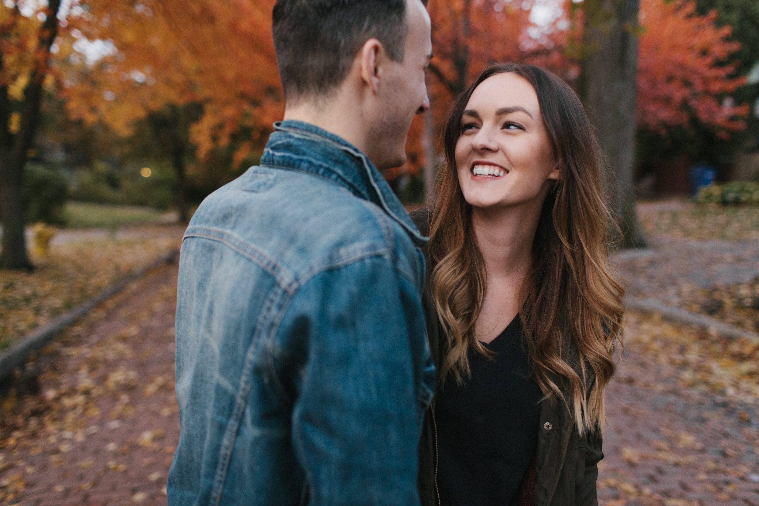 Grand Rapids Engagement photos Lifestyle Wedding Photographer Mae Stier Autumn Fall Candid Photography-007.jpg