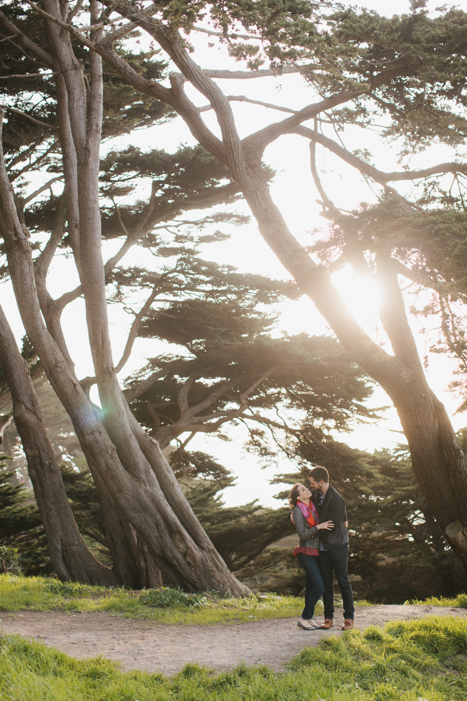 San Francisco Wedding Photography Sutro Baths Lands End Engagement Photos -004.jpg