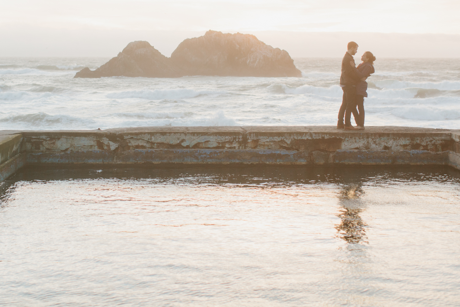 San Francisco Wedding Photography Sutro Baths Lands End Engagement Photos -007.jpg