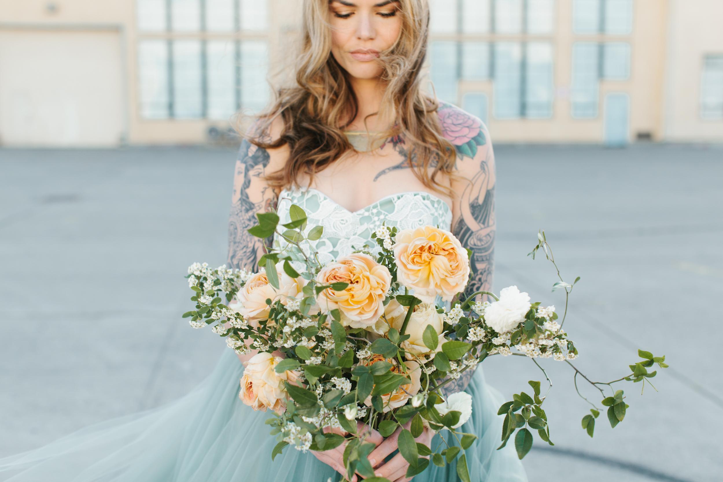 San Francisco California Wedding Photographer Bridal Portraits Studio Mondine Florals-004.jpg