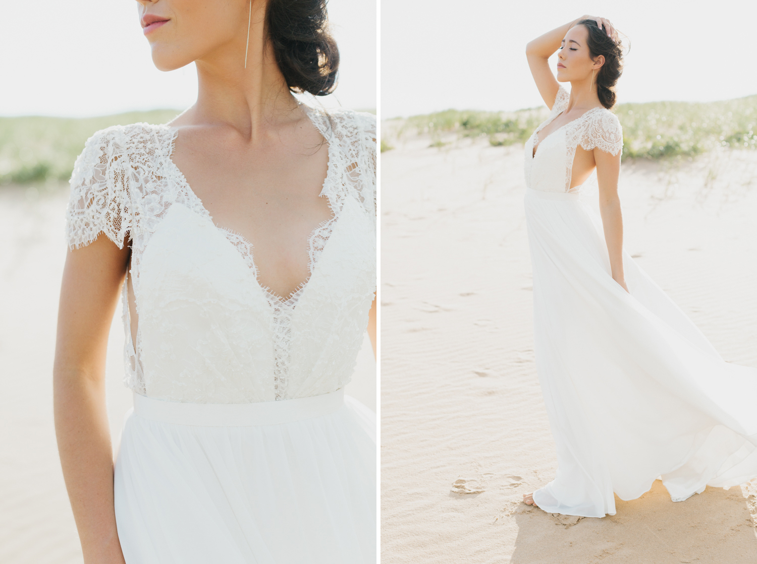 Sleeping Bear Dunes Bridal Portraits Wedding Photographer Mae Stier-001.jpg