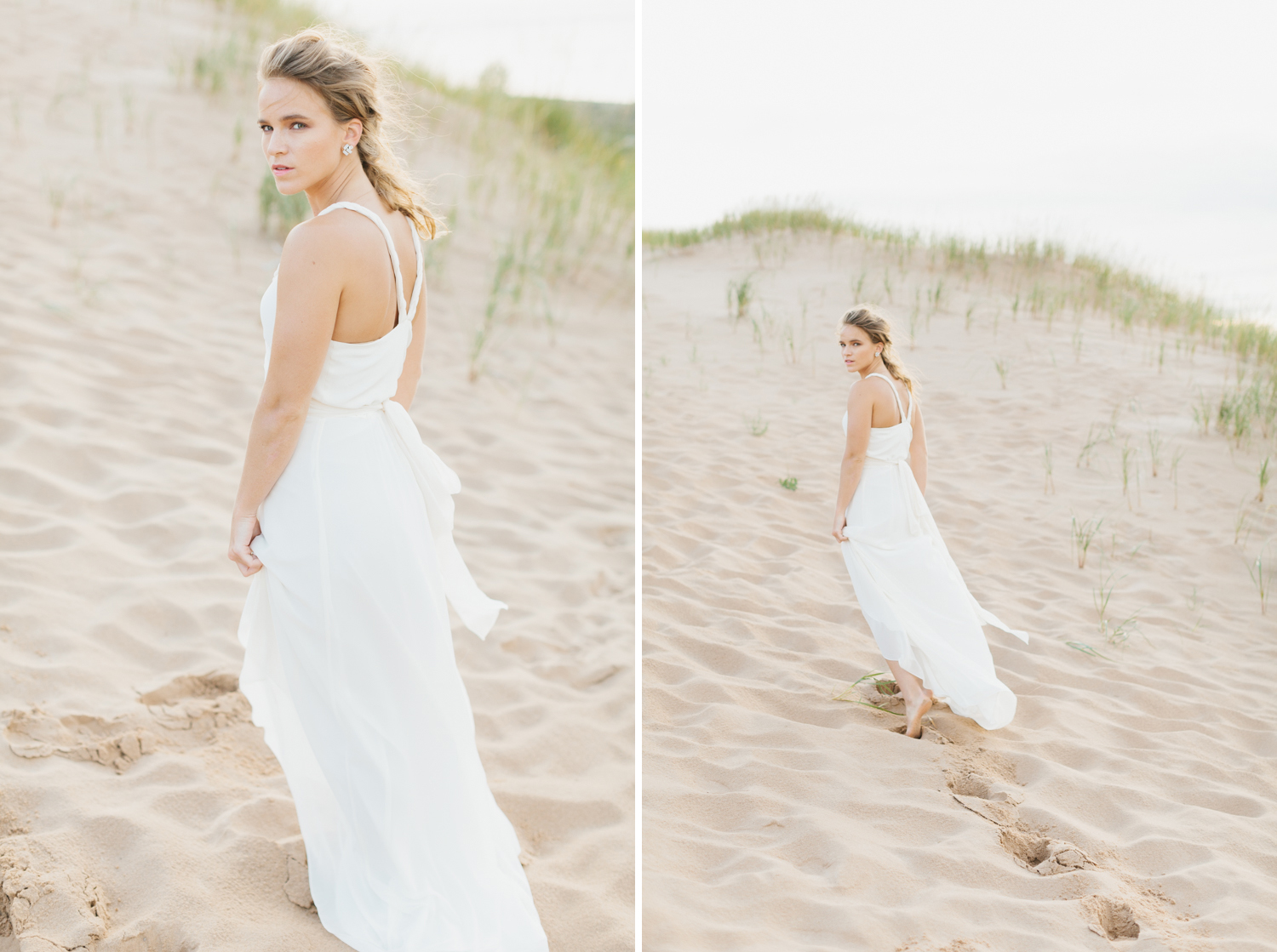 Sleeping Bear Dunes Bridal Portraits Wedding Photographer Mae Stier-018.jpg