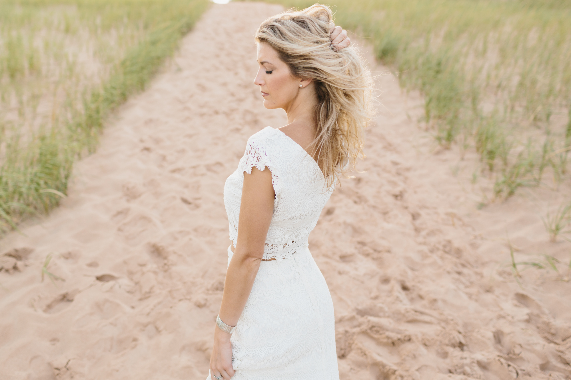 Sleeping Bear Dunes Bridal Portraits Wedding Photographer Mae Stier-038.jpg
