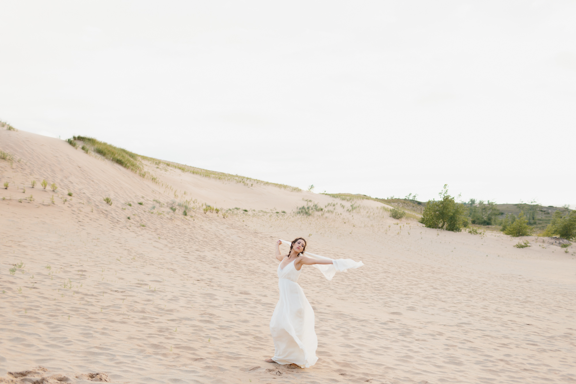 Sleeping Bear Dunes Bridal Portraits Wedding Photographer Mae Stier-041.jpg