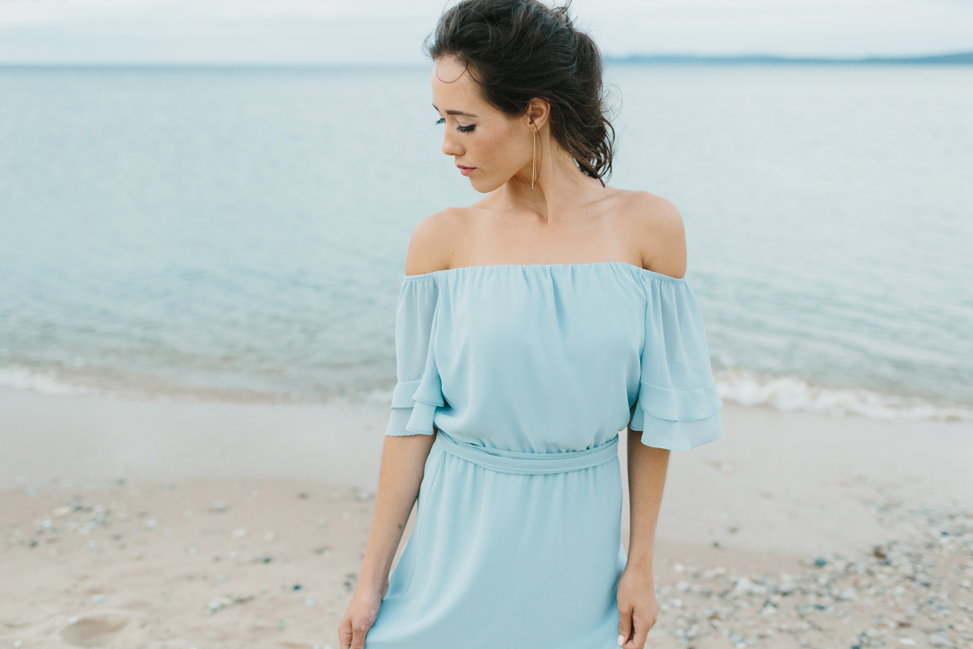 Sleeping Bear Dunes Bridal Portraits Wedding Photographer Mae Stier-045.jpg