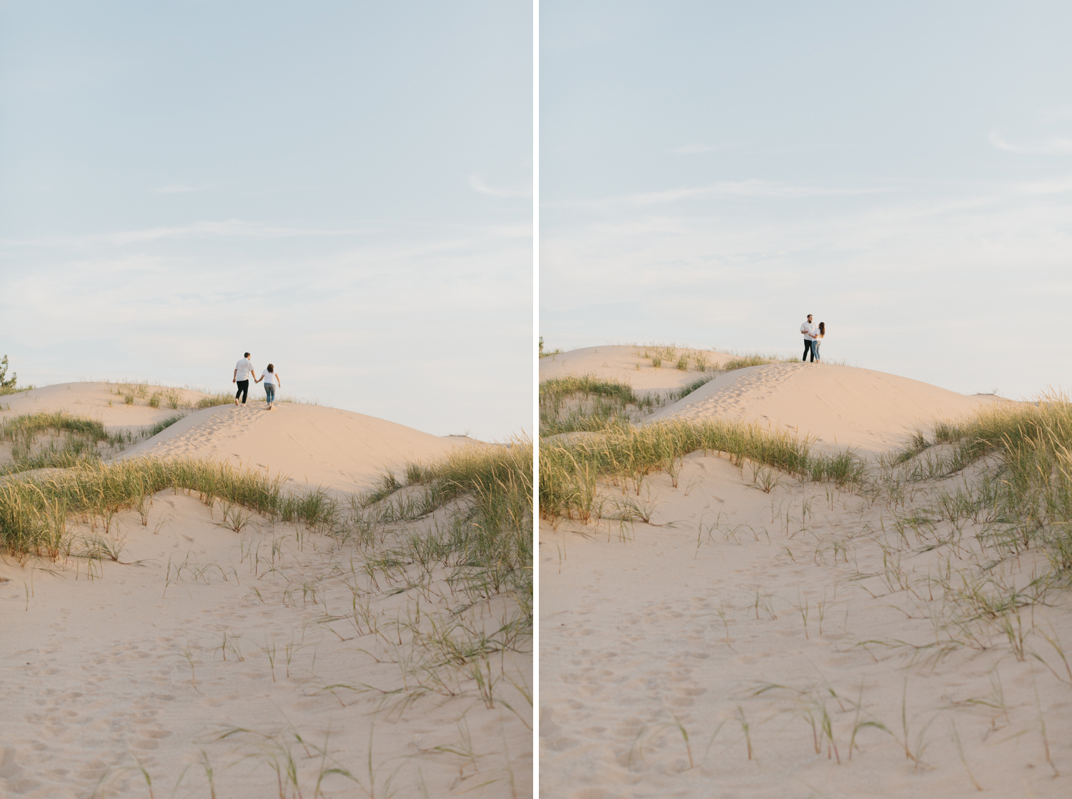 Northern Michigan Sleeping Bear Dunes Wedding Engagement Photographer Mae Stier-003.jpg