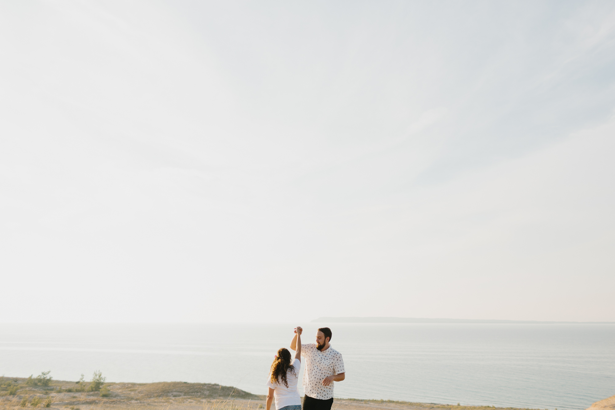 Northern Michigan Sleeping Bear Dunes Wedding Engagement Photographer Mae Stier-010.jpg