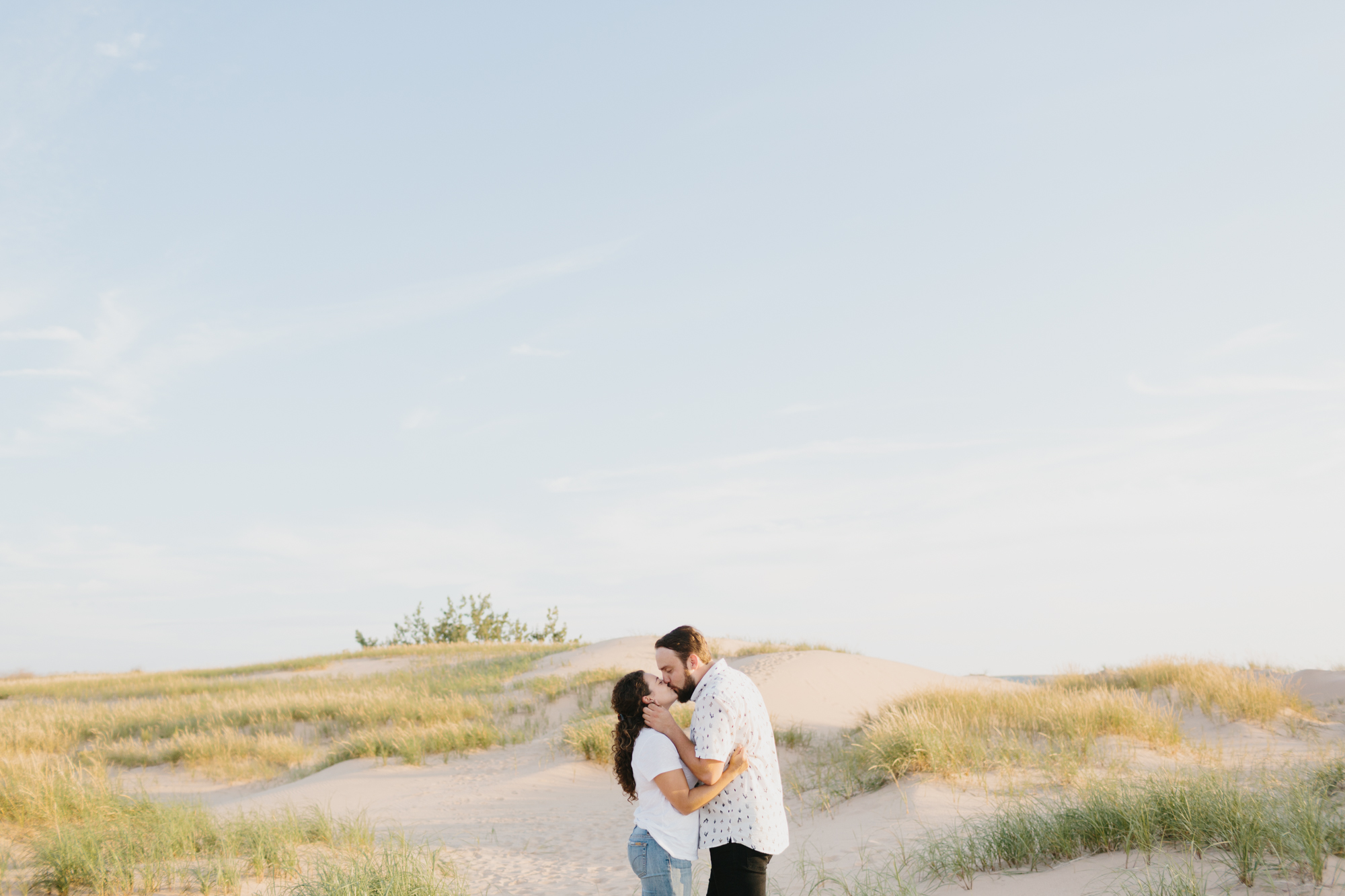 Northern Michigan Sleeping Bear Dunes Wedding Engagement Photographer Mae Stier-012.jpg