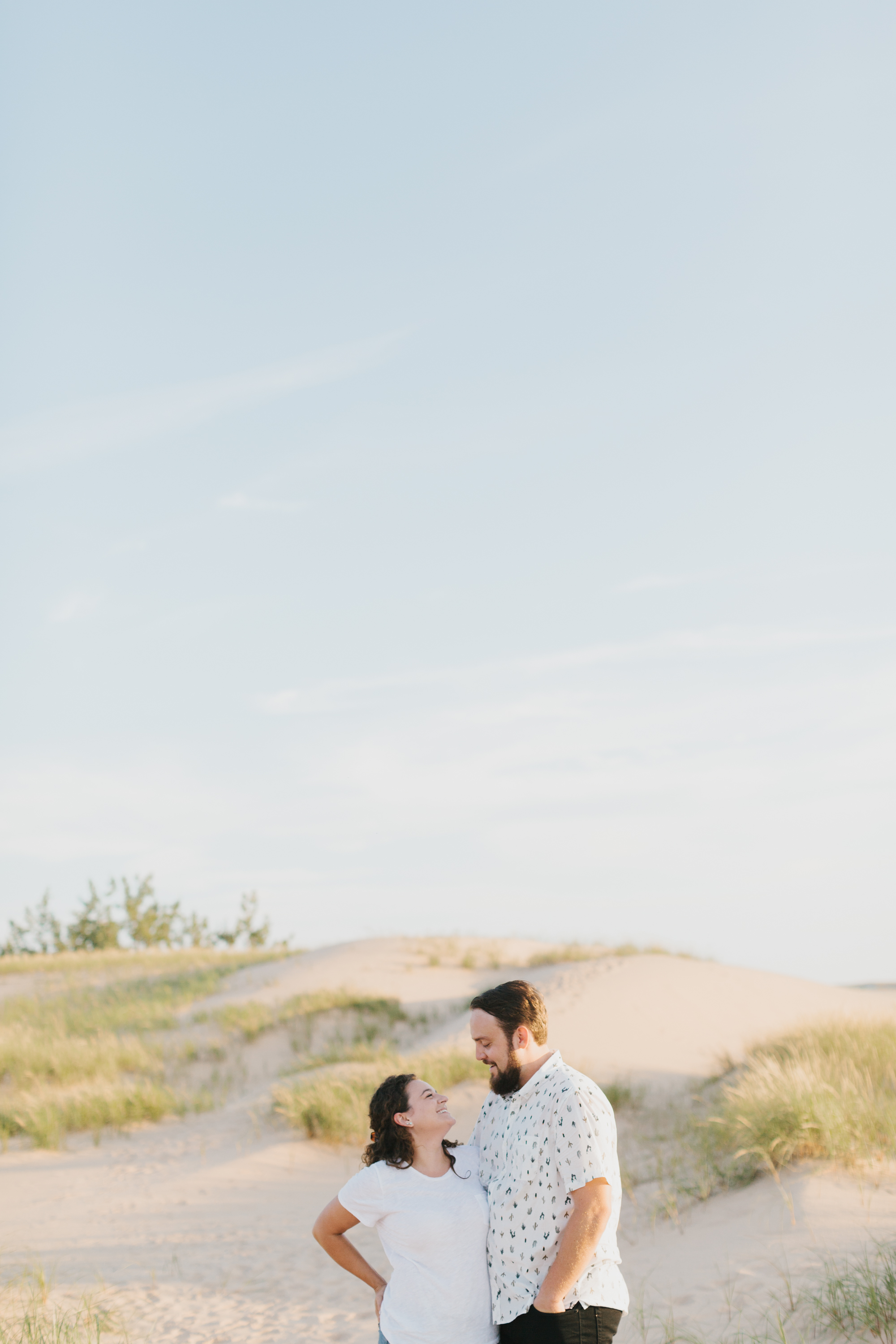 Northern Michigan Sleeping Bear Dunes Wedding Engagement Photographer Mae Stier-011.jpg