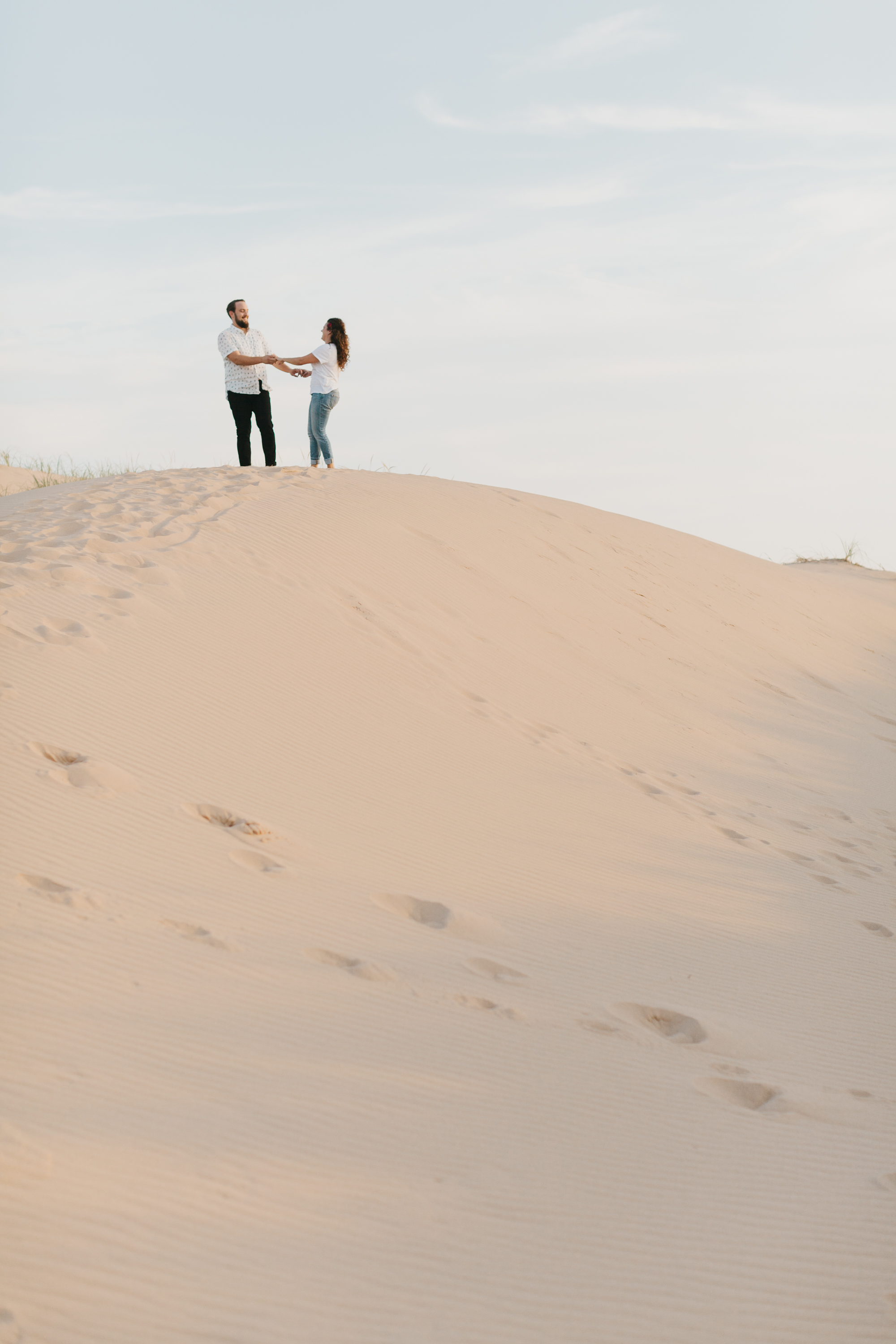 Northern Michigan Sleeping Bear Dunes Wedding Engagement Photographer Mae Stier-018.jpg
