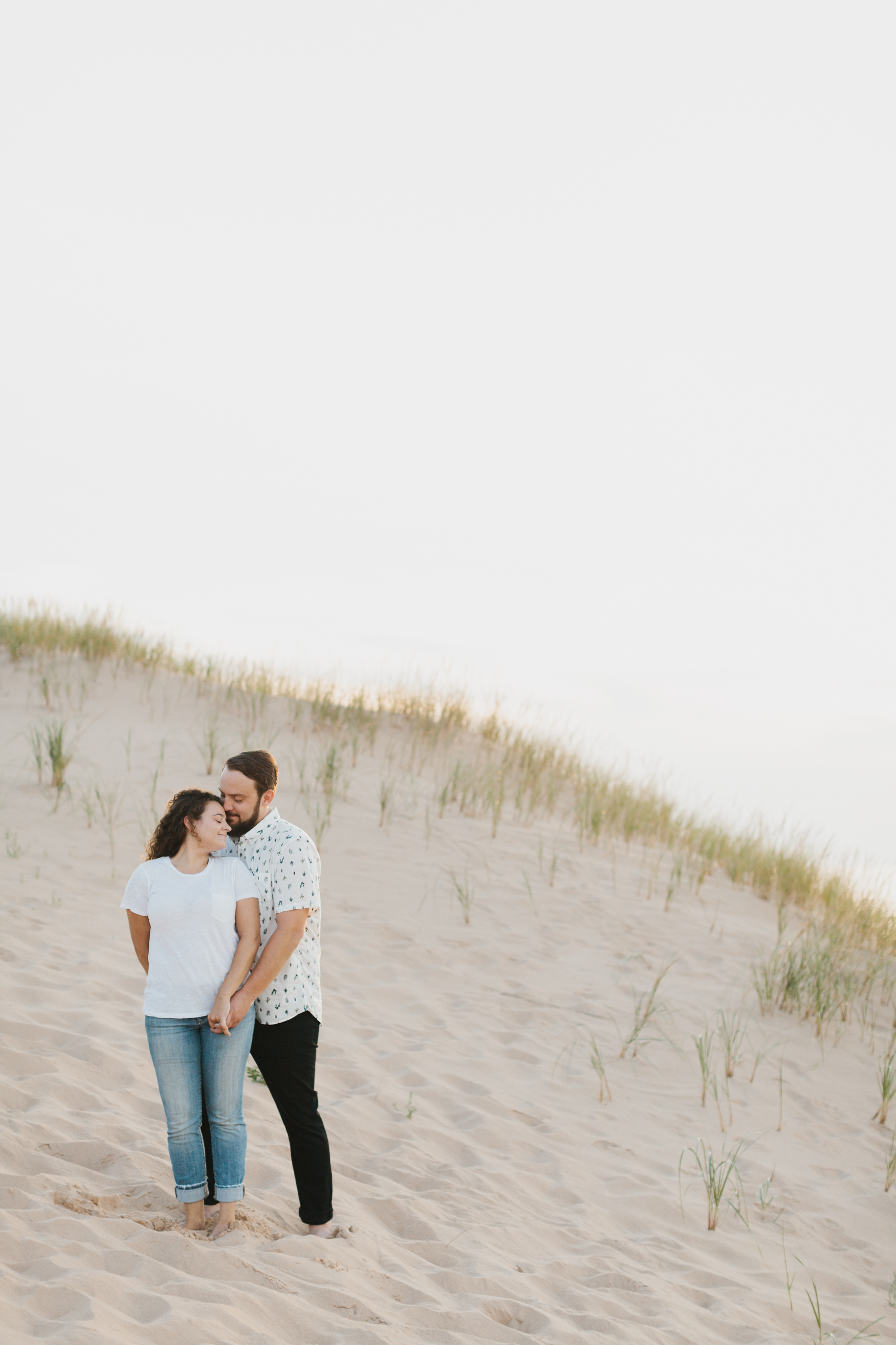 Northern Michigan Sleeping Bear Dunes Wedding Engagement Photographer Mae Stier-021.jpg