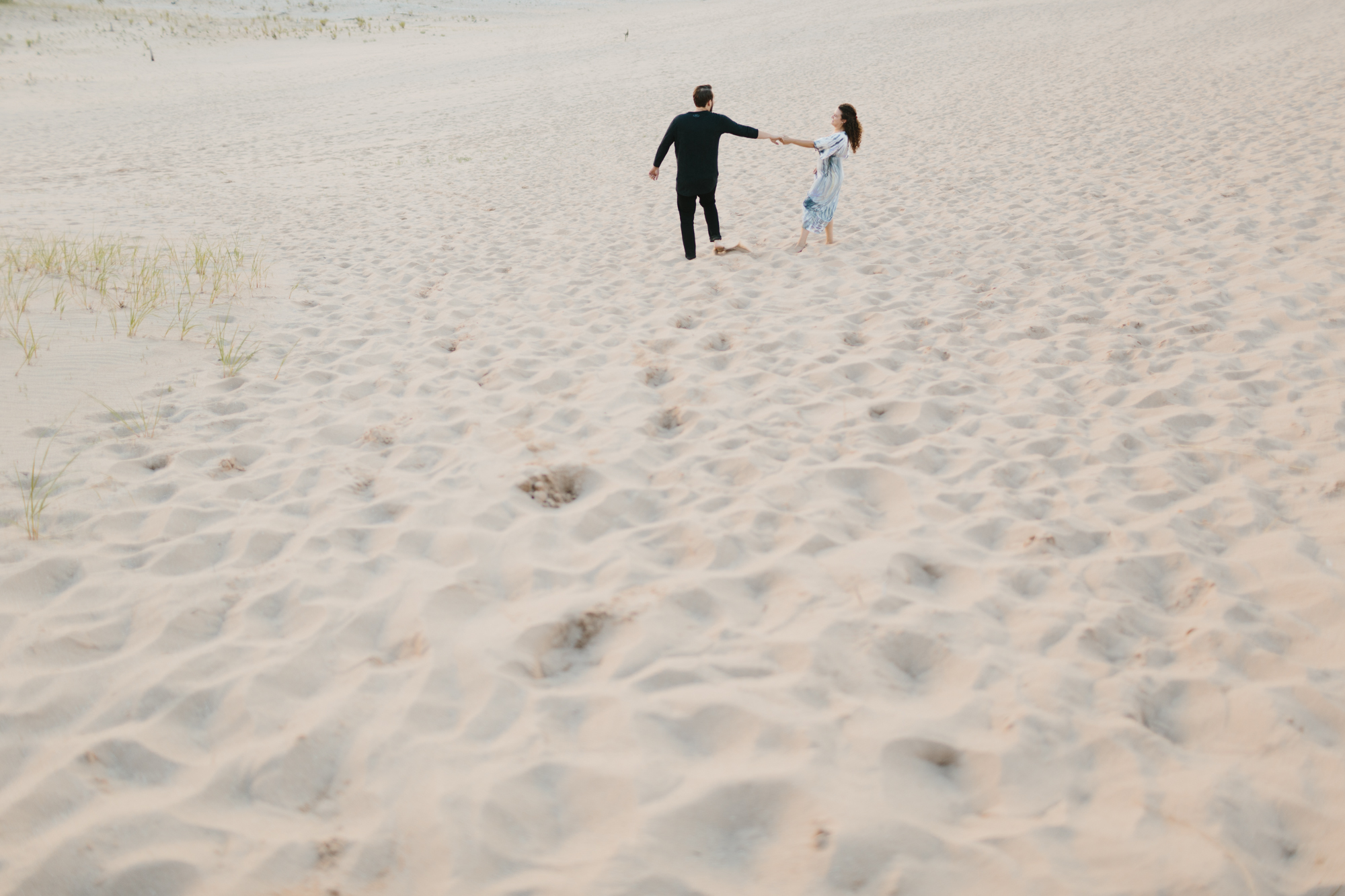 Northern Michigan Sleeping Bear Dunes Wedding Engagement Photographer Mae Stier-026.jpg