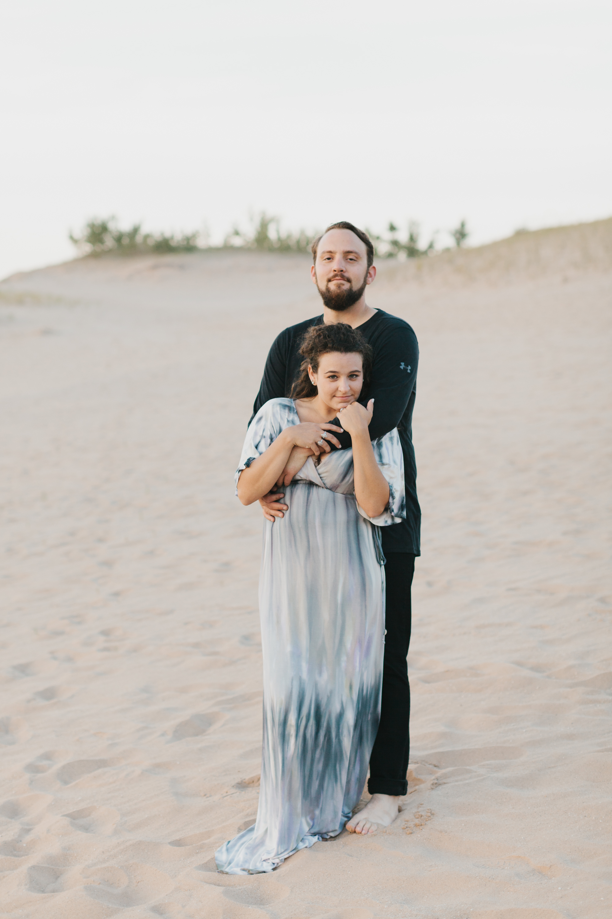 Northern Michigan Sleeping Bear Dunes Wedding Engagement Photographer Mae Stier-027.jpg