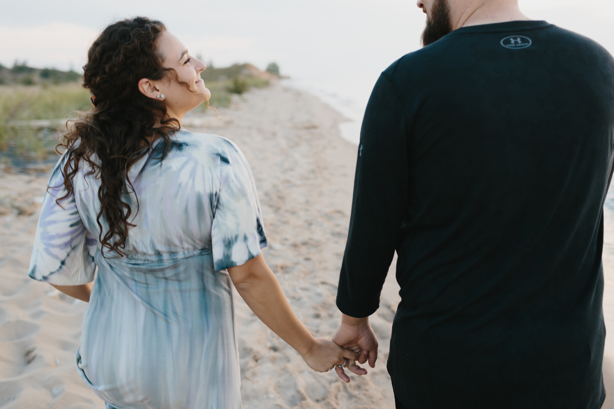 Northern Michigan Sleeping Bear Dunes Wedding Engagement Photographer Mae Stier-033.jpg
