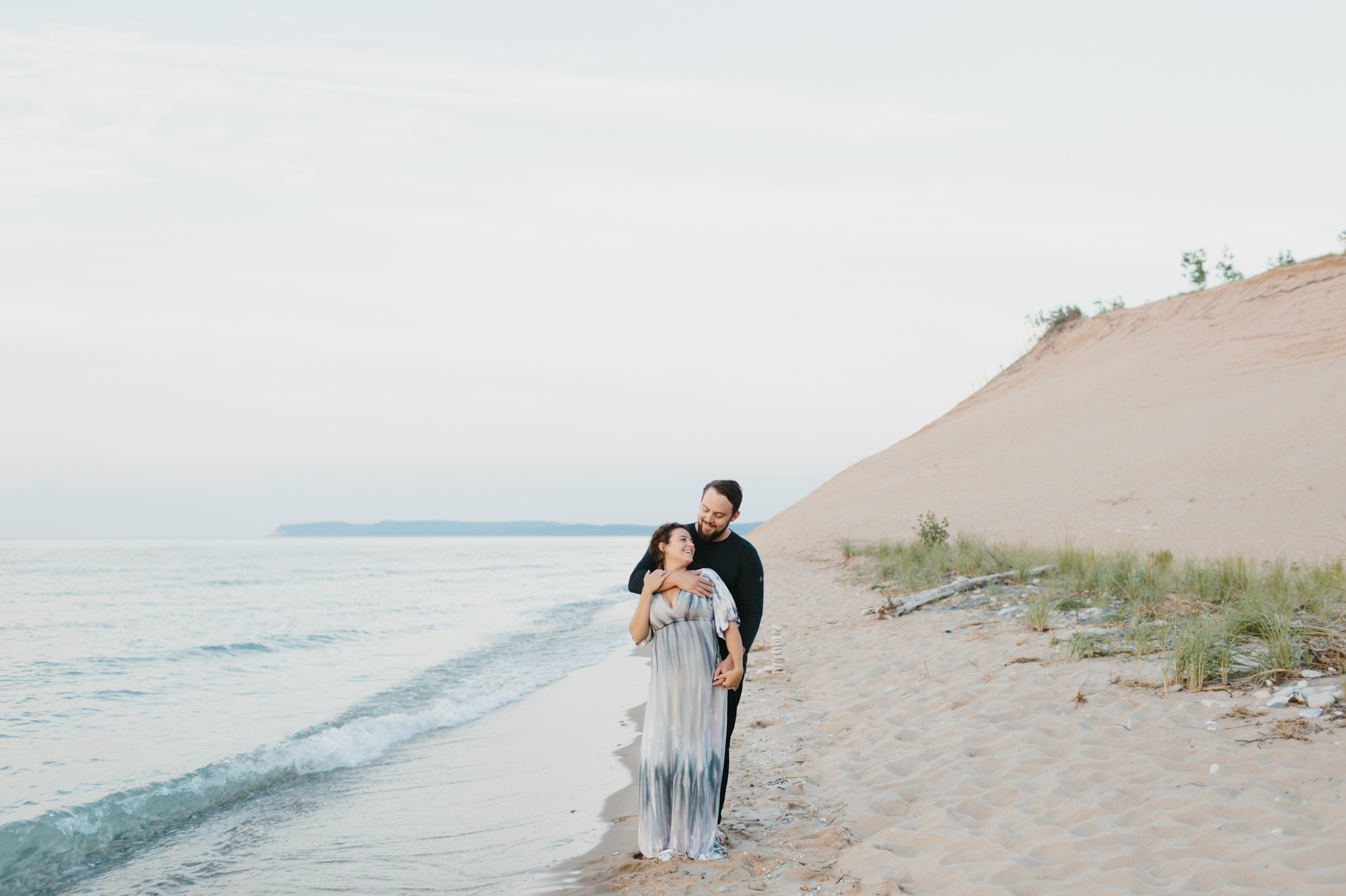 Northern Michigan Sleeping Bear Dunes Wedding Engagement Photographer Mae Stier-036.jpg