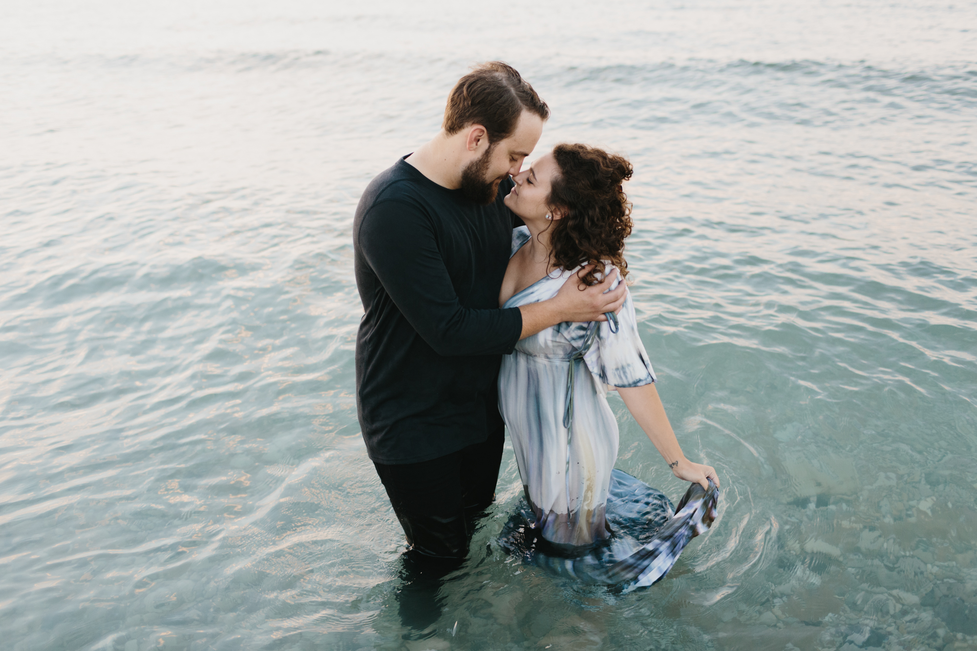 Northern Michigan Sleeping Bear Dunes Wedding Engagement Photographer Mae Stier-040.jpg