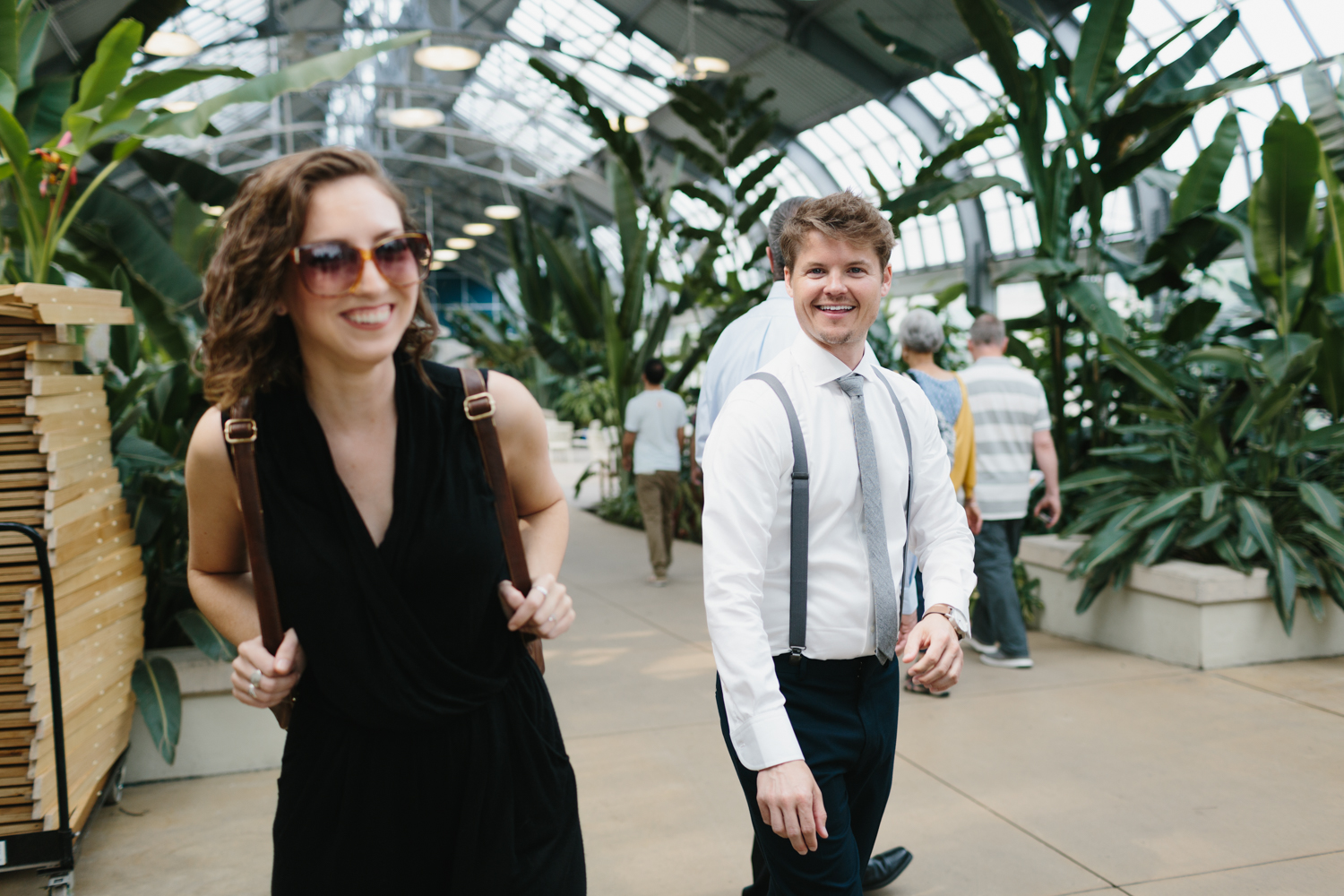 Chicago Garfield Park Conservatory Wedding by Northern Michigan Photographer Mae Stier-029.jpg