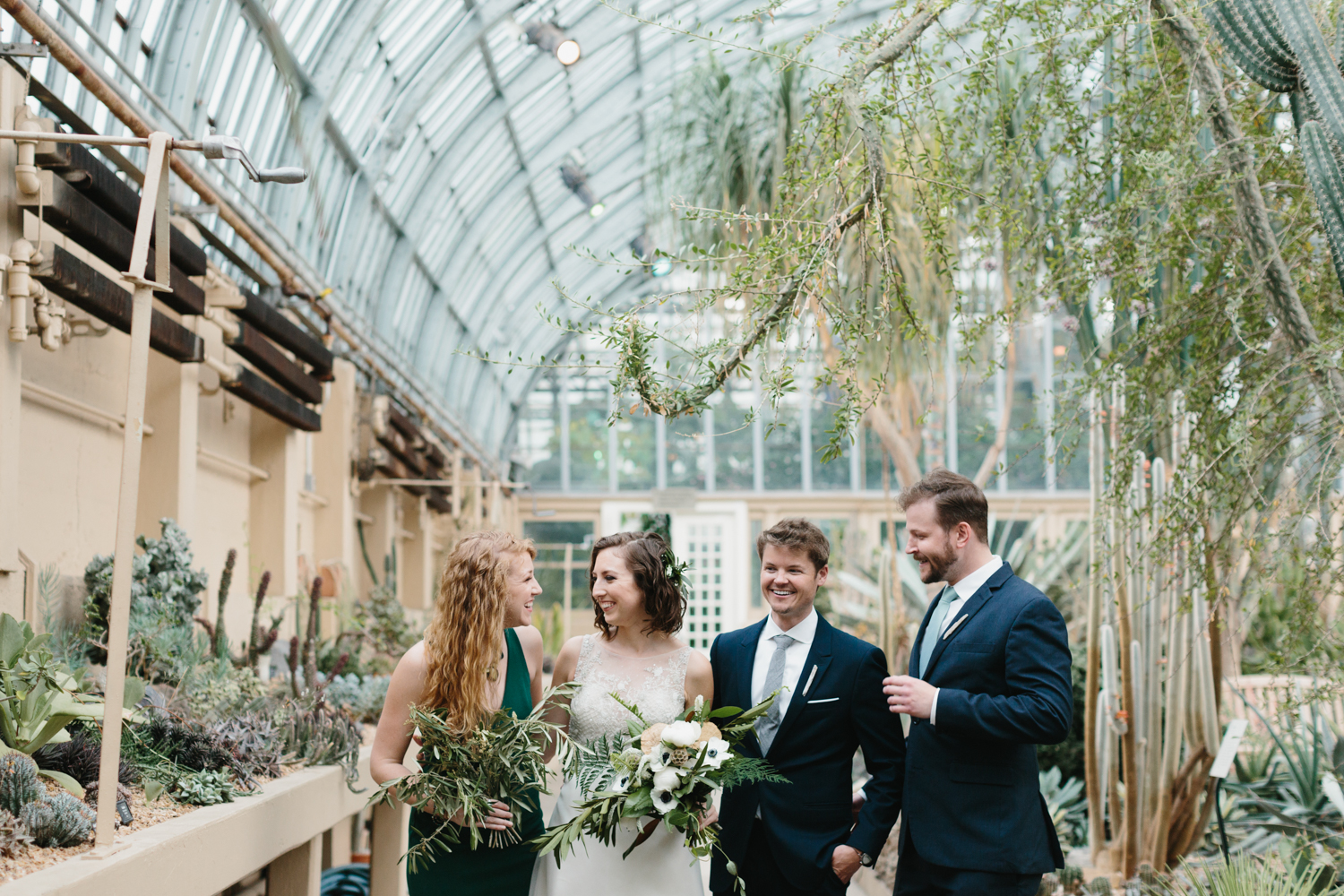 Chicago Garfield Park Conservatory Wedding by Northern Michigan Photographer Mae Stier-046.jpg