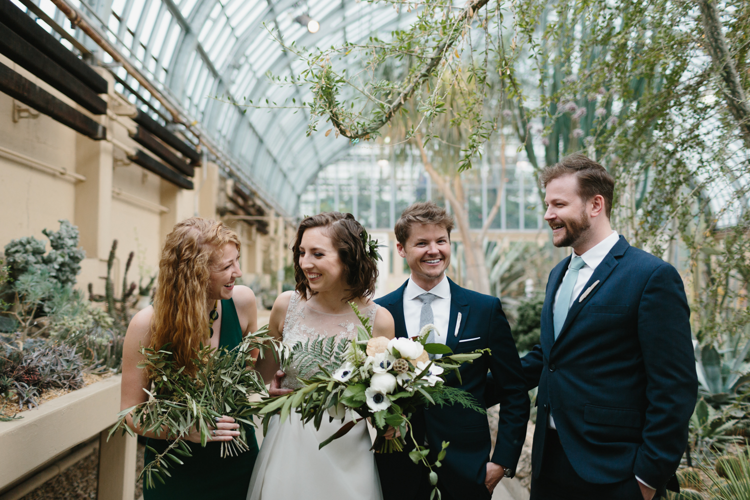 Chicago Garfield Park Conservatory Wedding by Northern Michigan Photographer Mae Stier-047.jpg