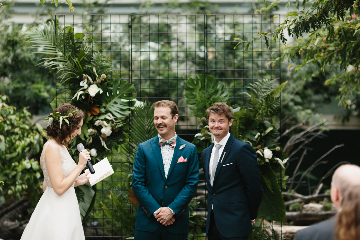 Chicago Garfield Park Conservatory Wedding by Northern Michigan Photographer Mae Stier-062.jpg