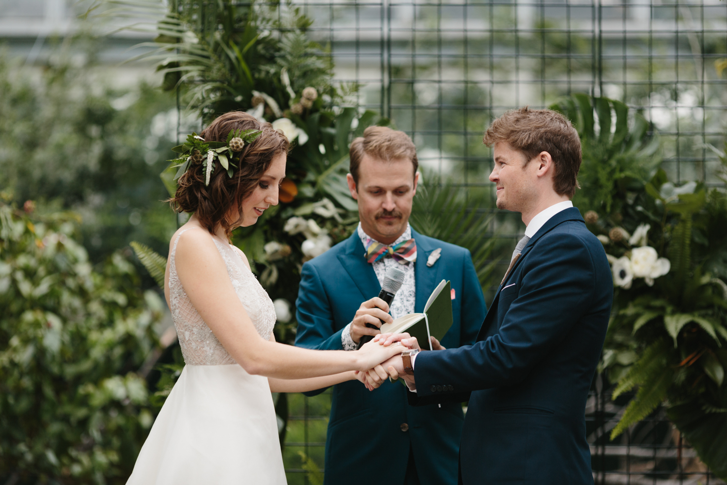Chicago Garfield Park Conservatory Wedding by Northern Michigan Photographer Mae Stier-066.jpg