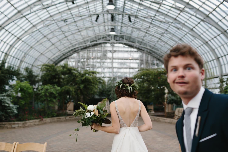Chicago Garfield Park Conservatory Wedding by Northern Michigan Photographer Mae Stier-069.jpg