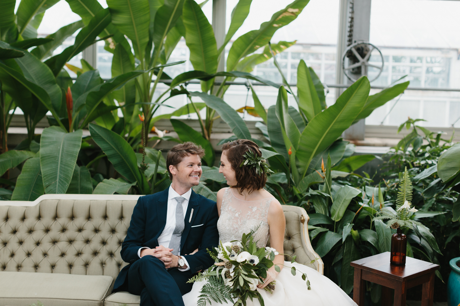 Chicago Garfield Park Conservatory Wedding by Northern Michigan Photographer Mae Stier-070.jpg