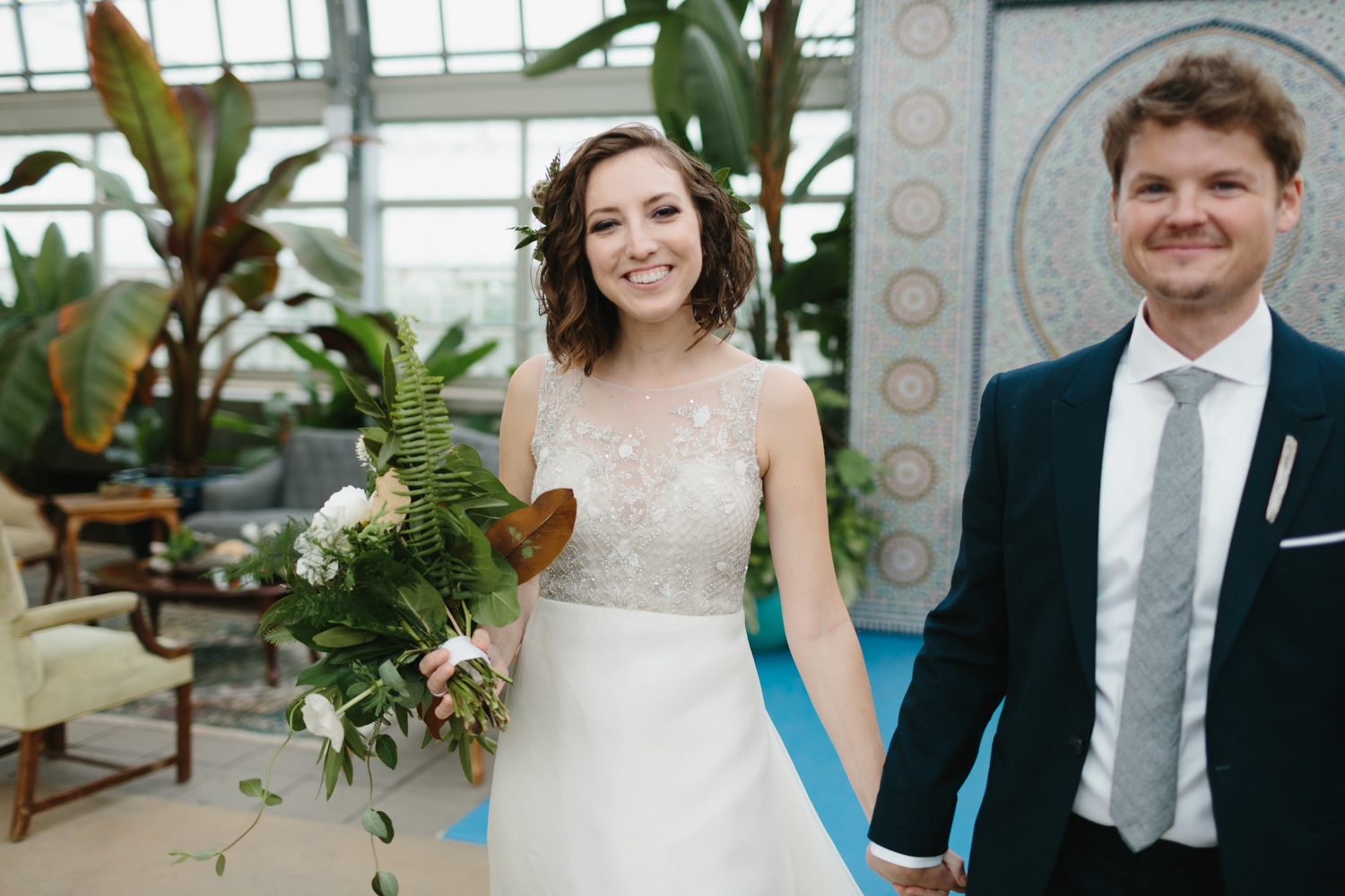 Chicago Garfield Park Conservatory Wedding by Northern Michigan Photographer Mae Stier-071.jpg