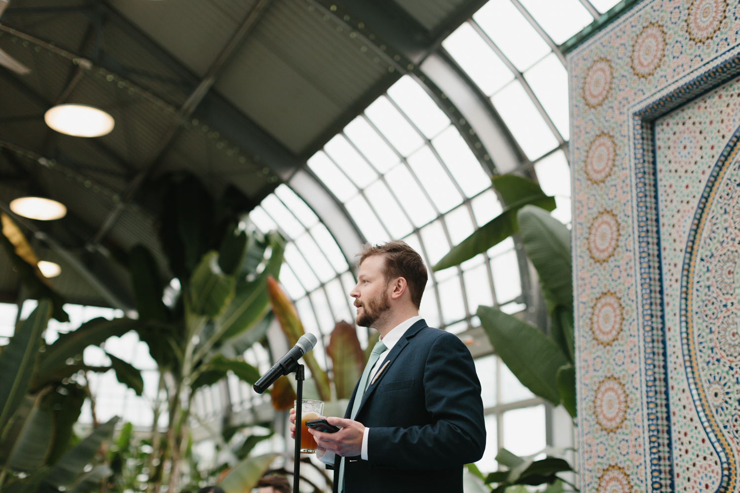 Chicago Garfield Park Conservatory Wedding by Northern Michigan Photographer Mae Stier-078.jpg