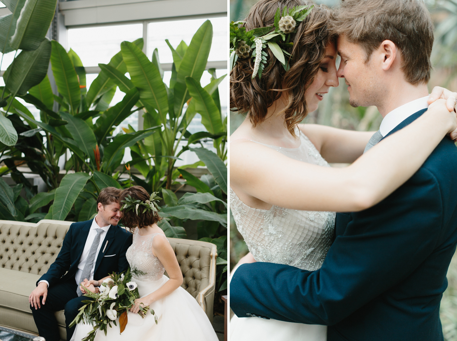 Chicago Garfield Park Conservatory Wedding by Northern Michigan Photographer Mae Stier-015.jpg