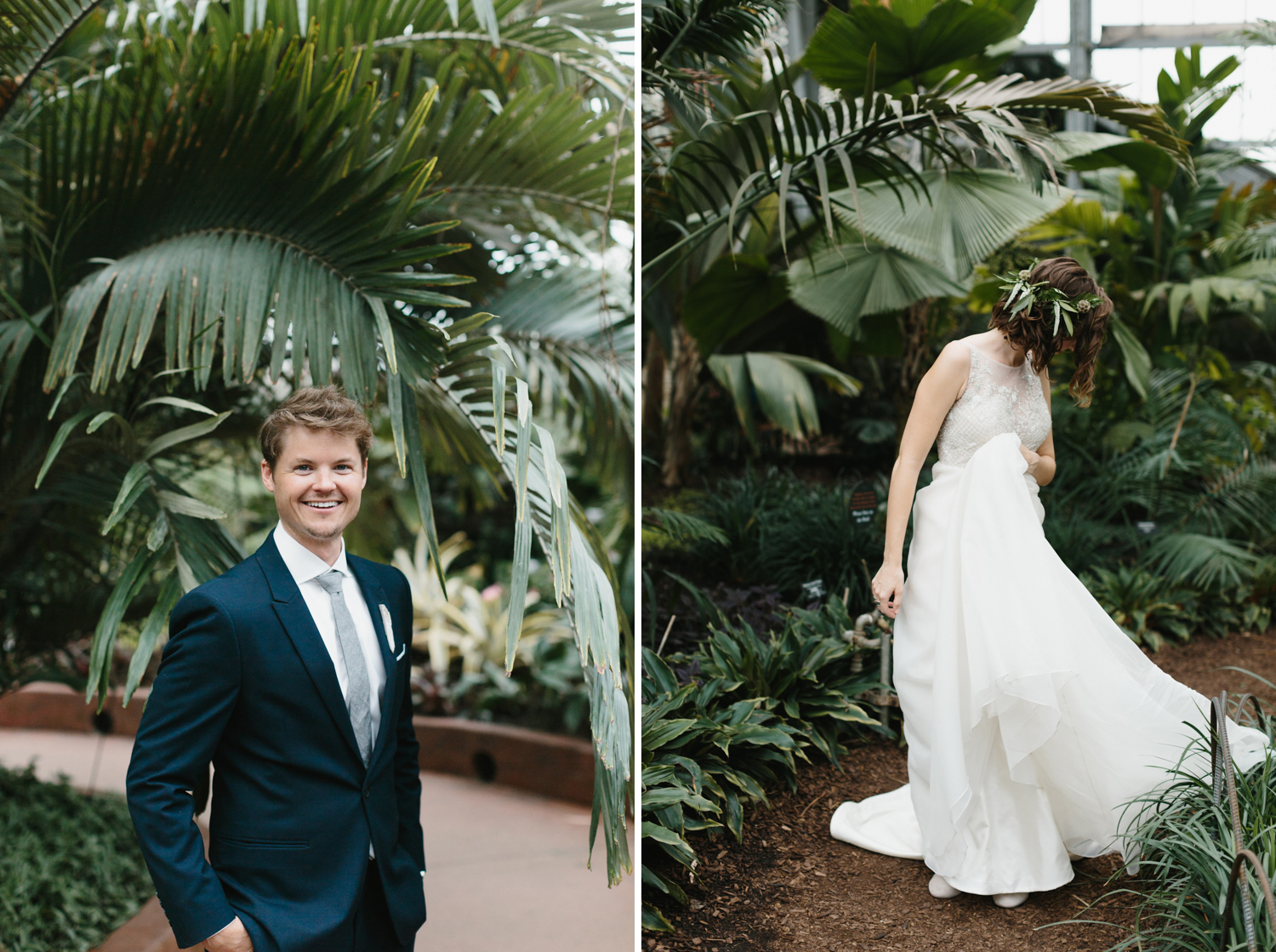 Chicago Garfield Park Conservatory Wedding by Northern Michigan Photographer Mae Stier-009.jpg
