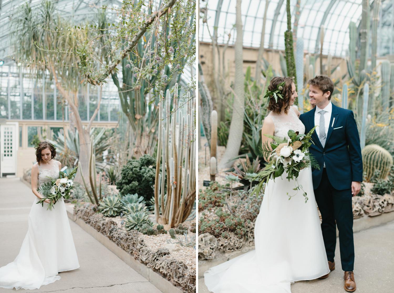 Chicago Garfield Park Conservatory Wedding by Northern Michigan Photographer Mae Stier-014.jpg