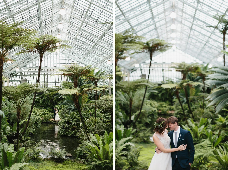 Chicago Garfield Park Conservatory Wedding by Northern Michigan Photographer Mae Stier-022.jpg