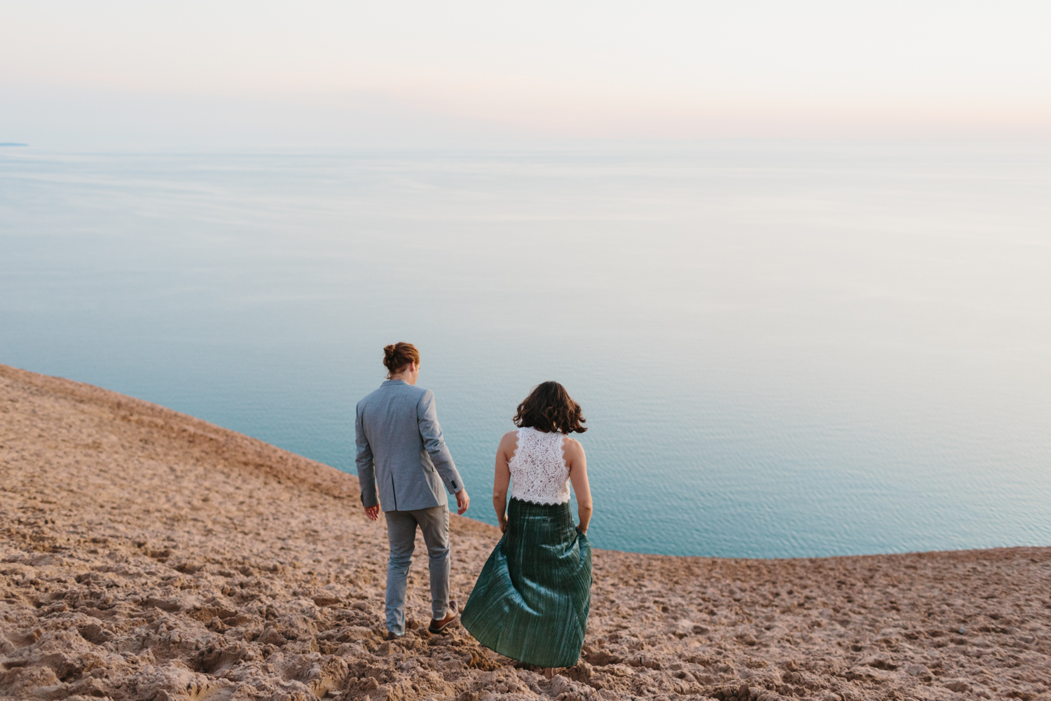 Sleeping Bear Dunes Elopement Wedding Photography by Mae Stier Northern Michigan Photographer-032.jpg