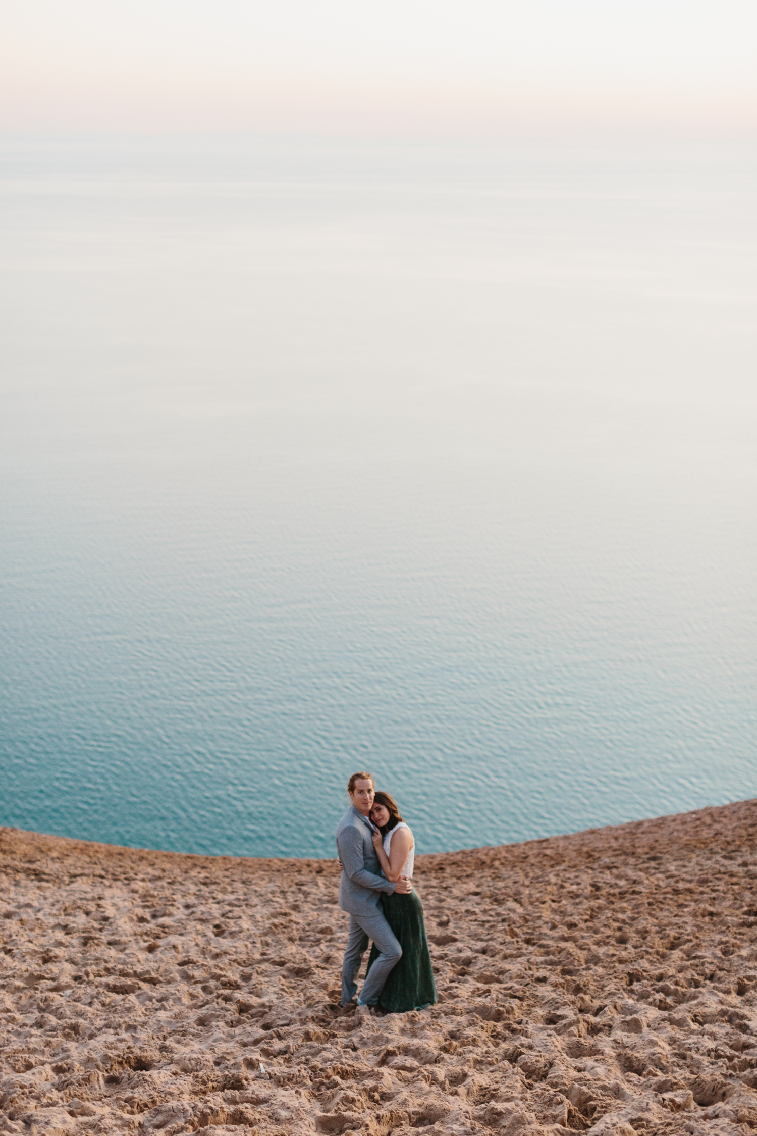 Sleeping Bear Dunes Elopement Wedding Photography by Mae Stier Northern Michigan Photographer-033.jpg