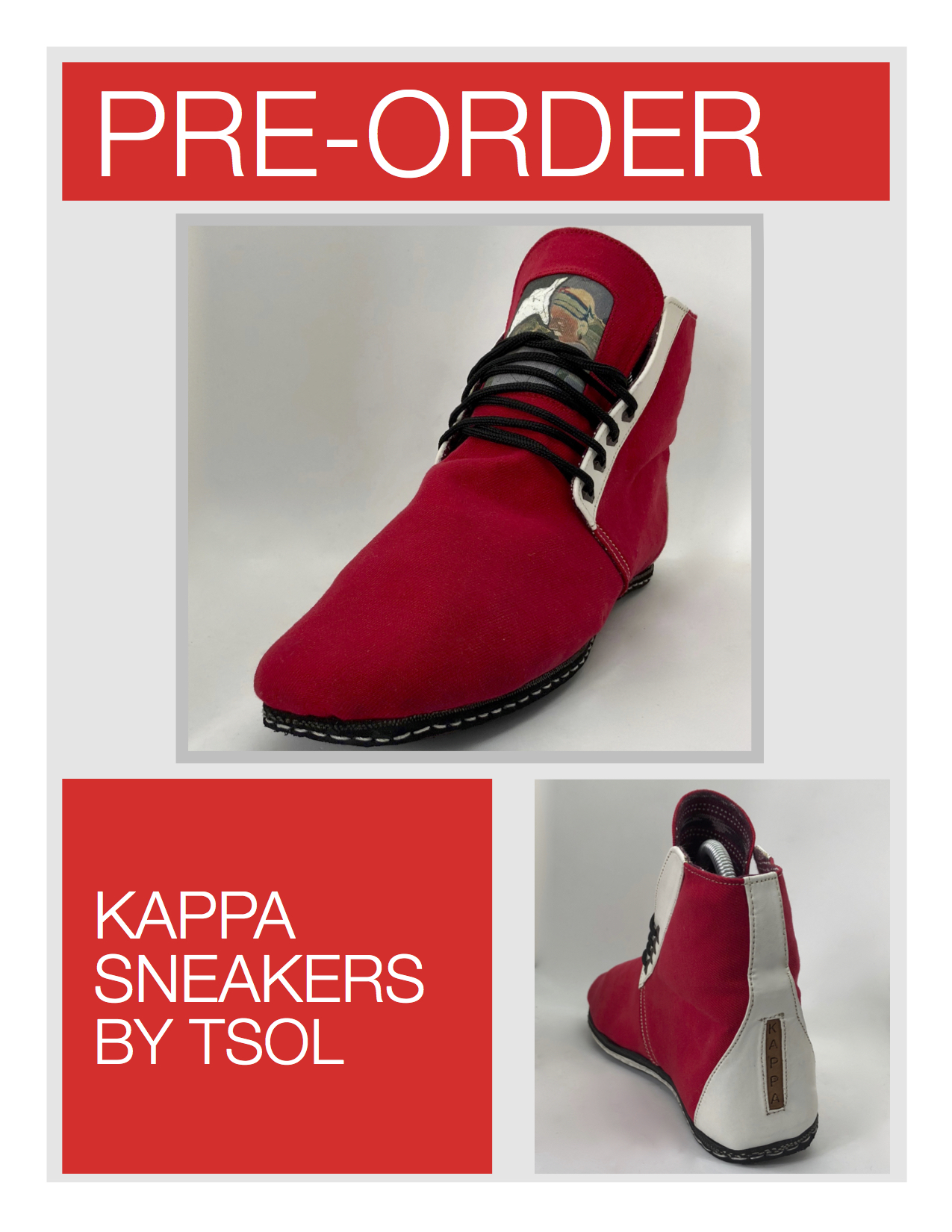KAPPA Fraternity Sneakers by tsoL apparel - STEP IN COMFORTtsoL apparel's Tribute Series