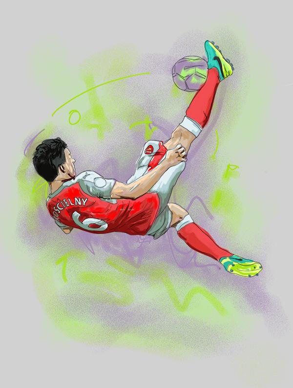 Laurent Koscielney - Gift of a Goal - Mathew Vieira