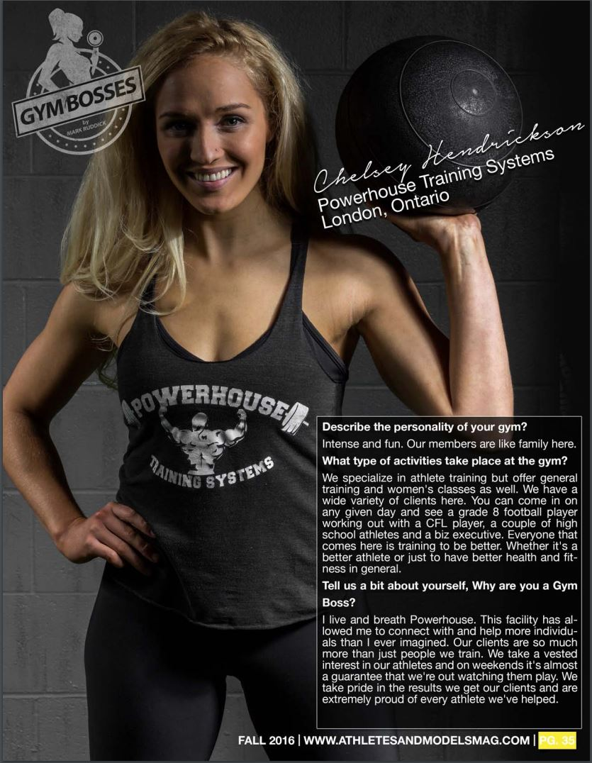 Chelsey - Powerhouse Training Systems