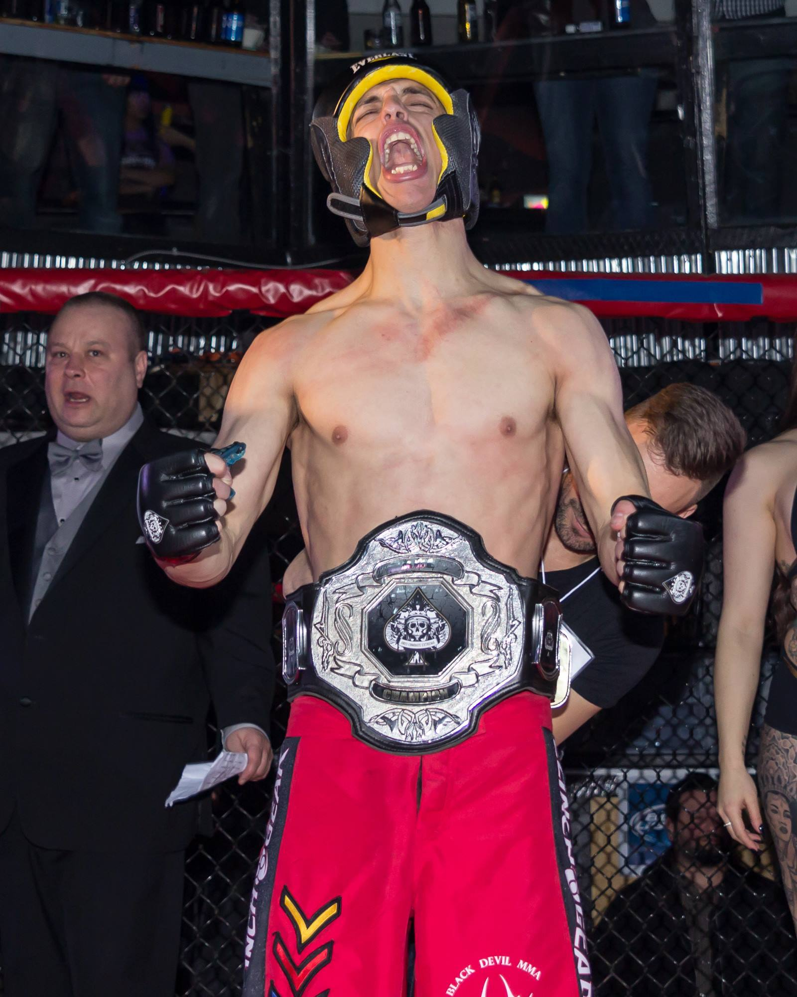 Throwback to the first ACE Fighting show in March, 2015.
