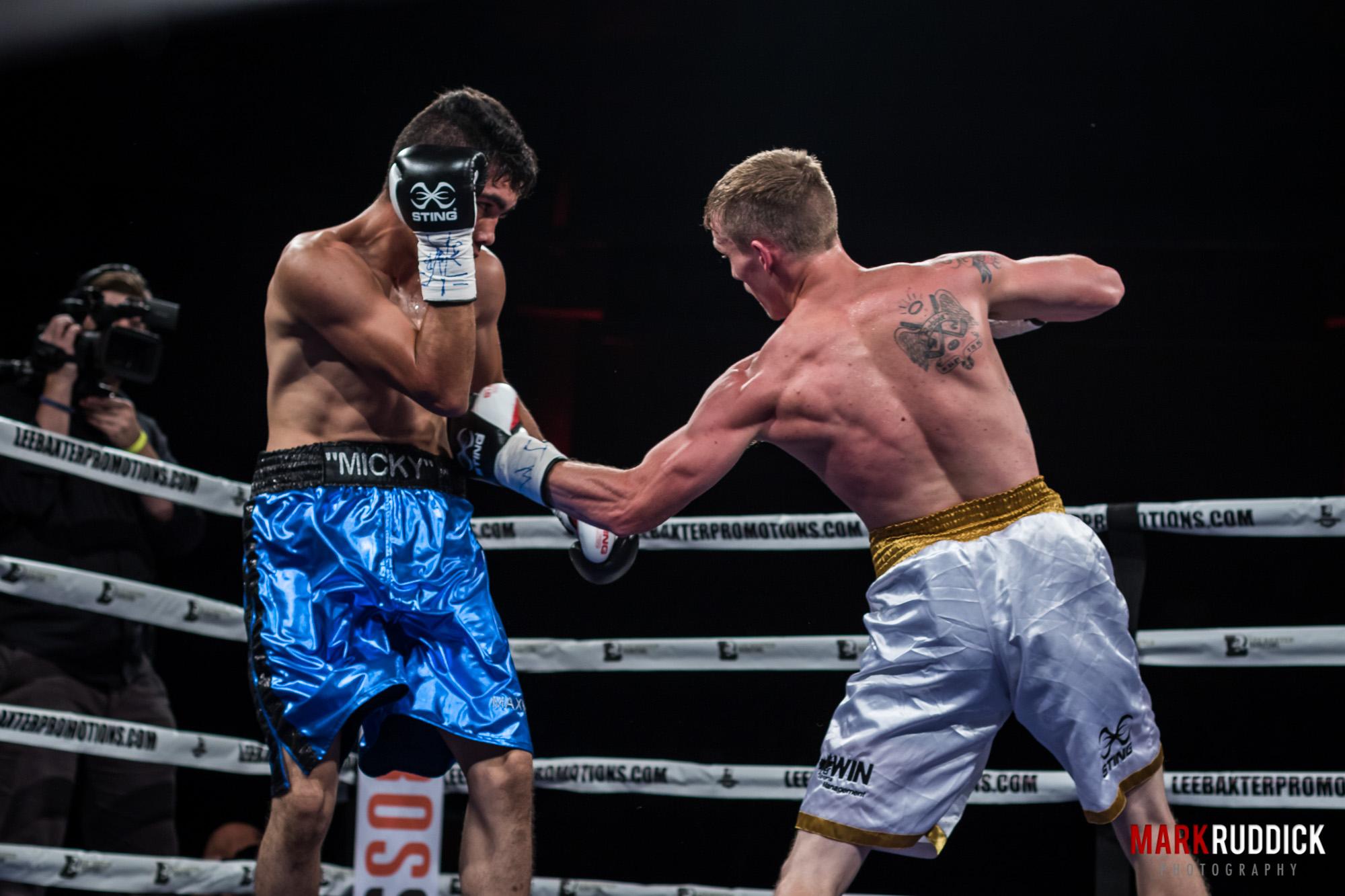 Bout #1 - Bradley Wilcox vs Miguel Angel Cobarrubias