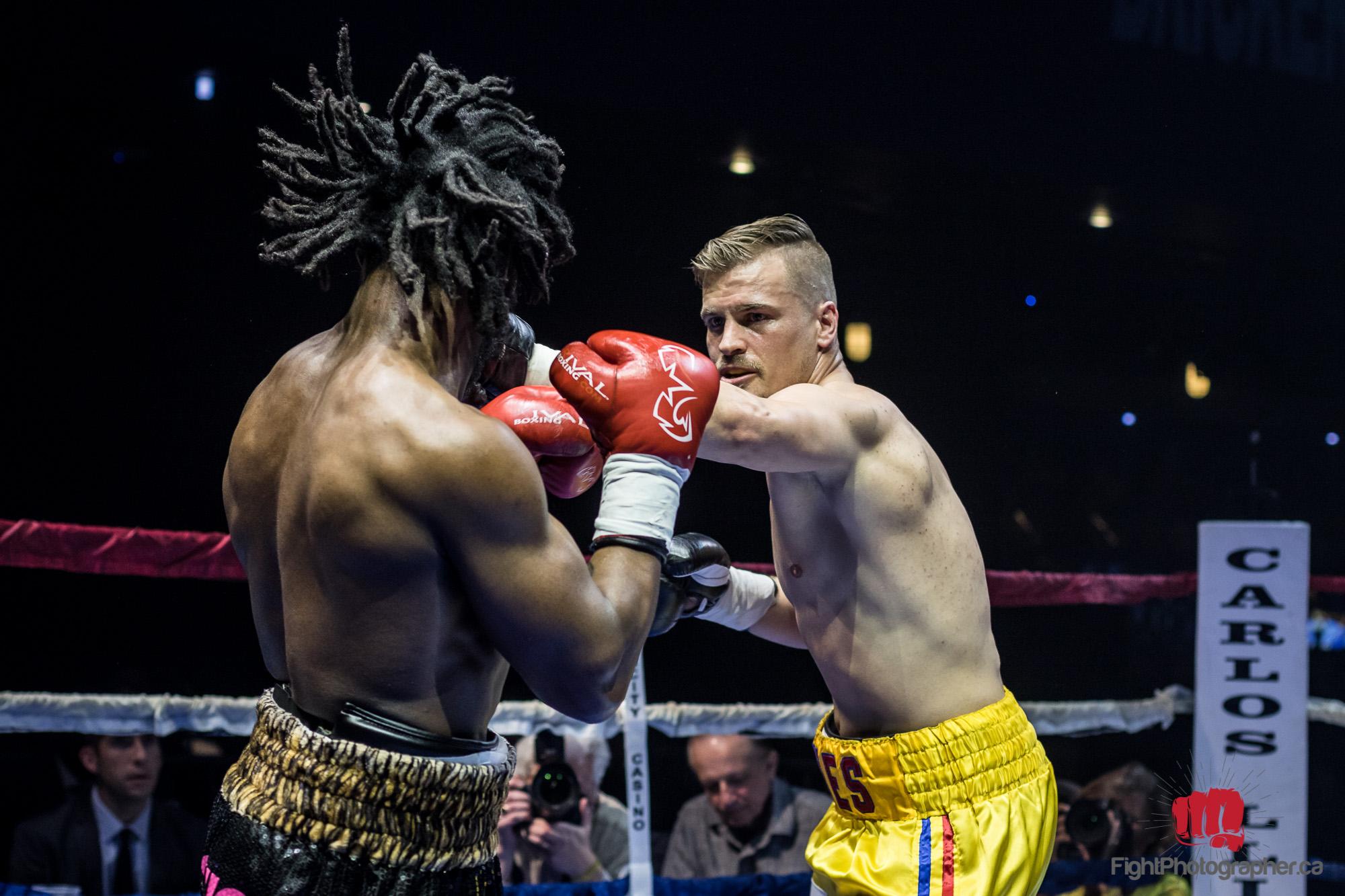 Professional Boxer Anthony Barnes